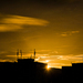 sunset medzi vežiakmi