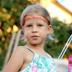 Dievča s dúhou