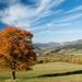 Jesenný pohľad na Súľov-Hradnú
