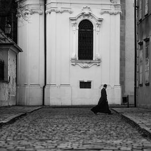 Chôdza mnícha