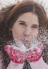 zimny portret
