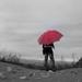 ONA slečna - ON dáždnik