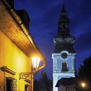 večerná Štiavnica