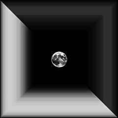 Mesiac z lepenkovej krabice...