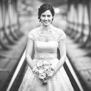 Bride on the Bridge