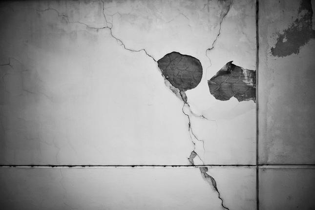 príbehy múrov...zľaknutie