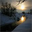krajina zimná...