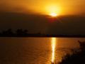 Západ slnka Čaňa