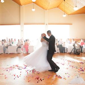 Svadobný tanec...