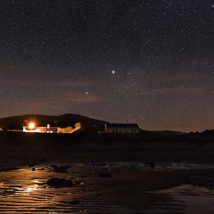 nocna prechadzka po plazi
