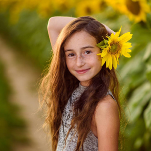 portret v prirode