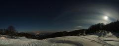 Noc v horách