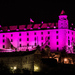 Fialový Bratislavský hrad