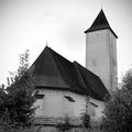 Románsko-gotický kostol Svinica
