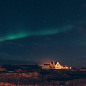 Domček na Islande