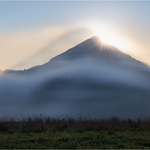 Tieňoha hory...