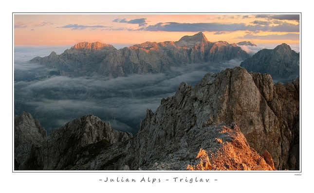 Triglav - Julske Alpy