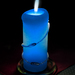 ...blue candle