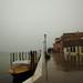 rainy morning in venezia