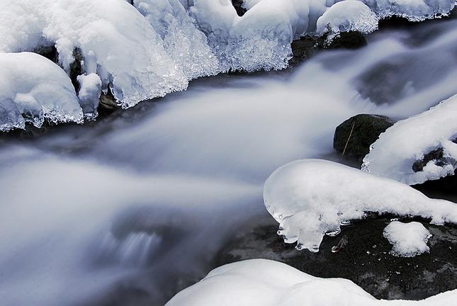 Špania Dolina, banský potok