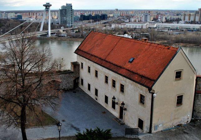 pohľad z Bratislavského hradu