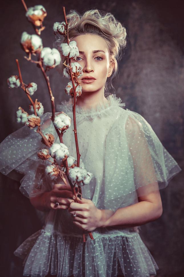 cotton lady