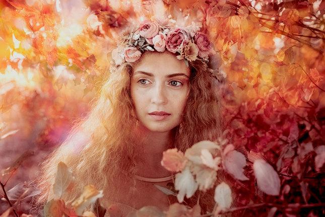 jesenná víla