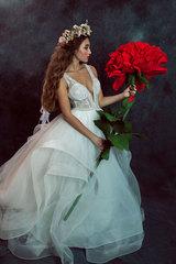 Tanec s červenou ružou