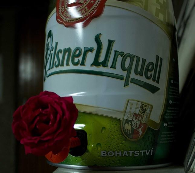 pivo ruže prináša