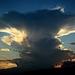 Podvečerný cumulonimbus