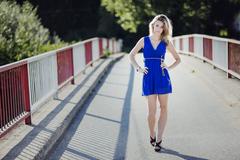 Walk along the bridge