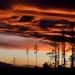 Západ slnka vo Vysokých Tatrách
