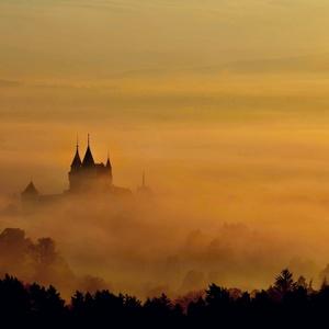 Bojnice - východ slnka