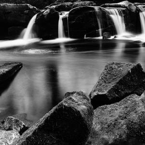 ice waterfall ...