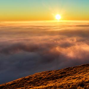 ranný slnečný príliv ...