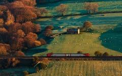 railway in Edale ...