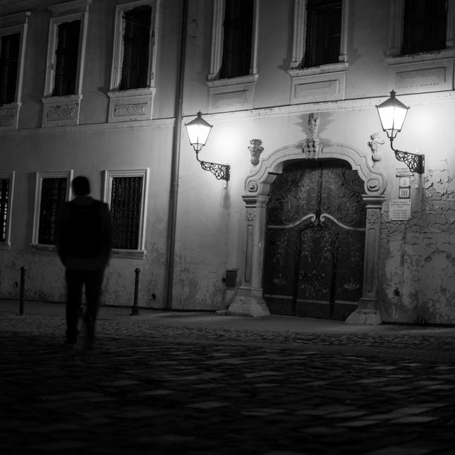 nočná prechádzka