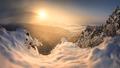 Zima v Karpatoch