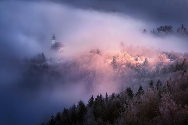 Skrytý v hmle