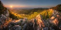 Ráno na Čiernej skale