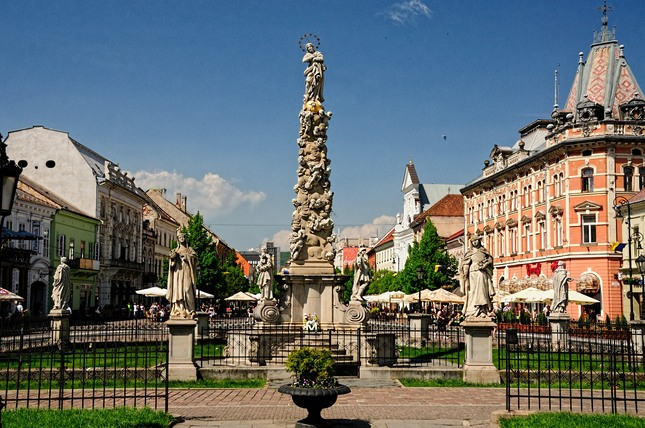 Morová socha Košice