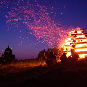 Svätojánska vatra na Radhošti II