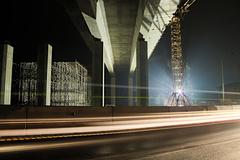 Pod (budúcim diaľničným) mostom