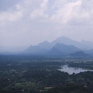 Sigiriya - výhľad