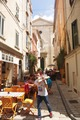 Ulička Saint-Tropez