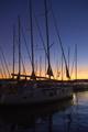 Západ slnka v maríne
