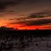 polárny západ slnka