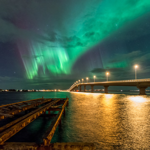 na druhej strane mosta