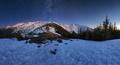 Nizke Tatry z Mestskej hory