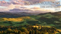 Time Lapse - Slovakia Mountains